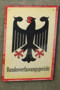 Bundesverfassungsgericht Karlsruhe.