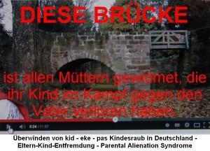 Ein Mahnmal sollte es sein. Ein Hoffnungsschimmer ist es geworden. Eine Brücke zu den entfremdeten Kindern finden, damit die Wunden heilen können.