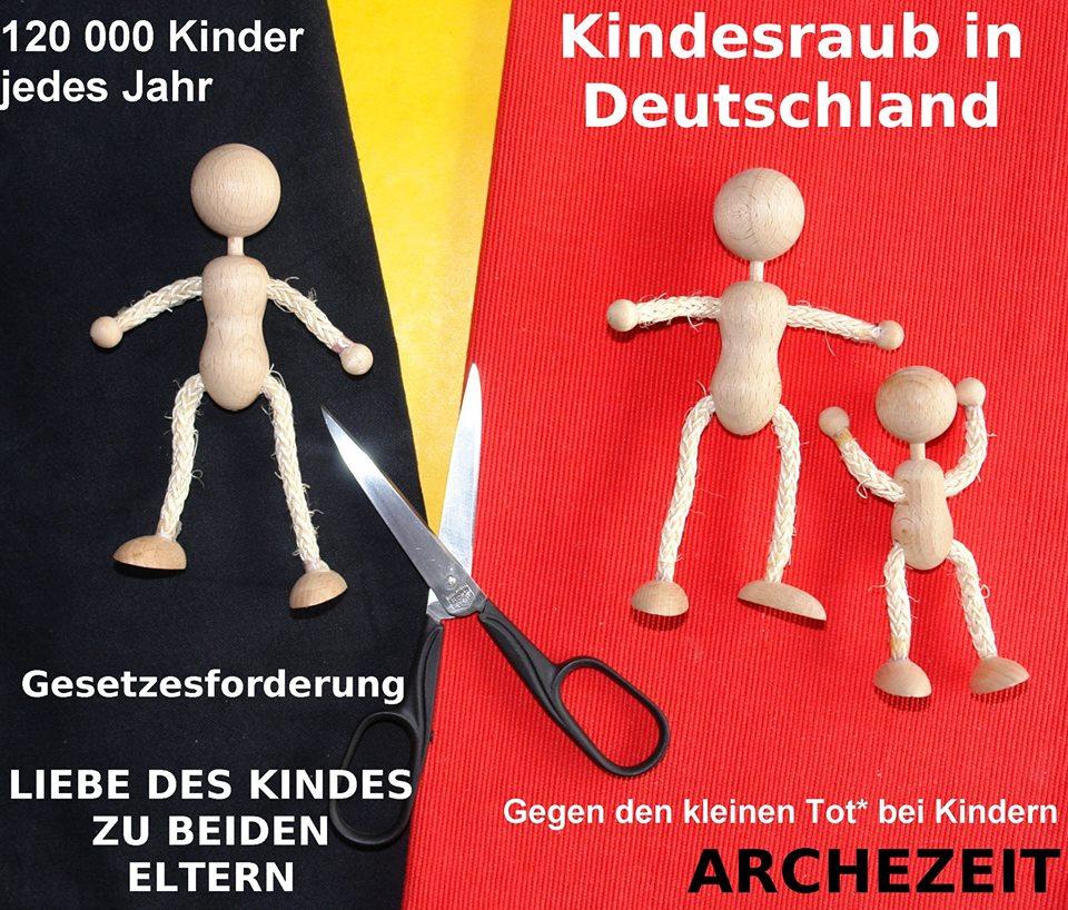Gegen den kleinen Tot* bei Kindern. Eltern-Kind-Entfremdung ist psychische und körperliche Gewalt.