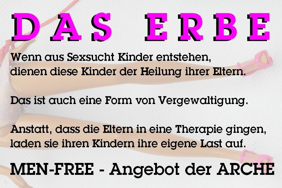 Wer nur unter Männern sein möchte, um seine Themen anzugehen, findet jetzt ein Angebot in der ARCHE: MEN-FREE.
