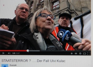 Ohne sie wäre Ulvi Kulac aufgeschmissen. Sie kämpft für seine Freilassung. Gudrun Rödel.