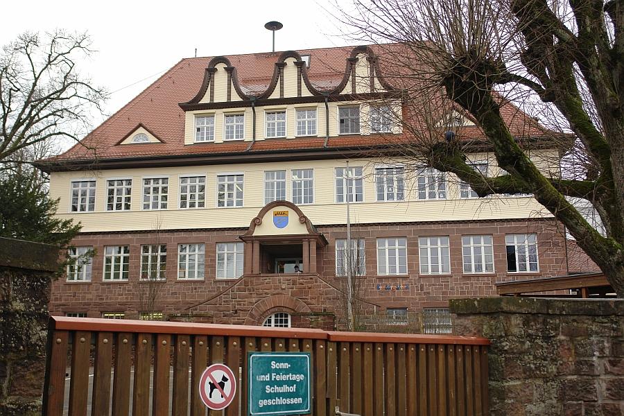 ARCHE-Foto Keltern-Weiler Straubenhardt-Ottenhausen Grundschule im Dorf_16