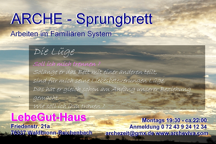 ARCHE-Foto Keltern-Weiler Die Lüge_08