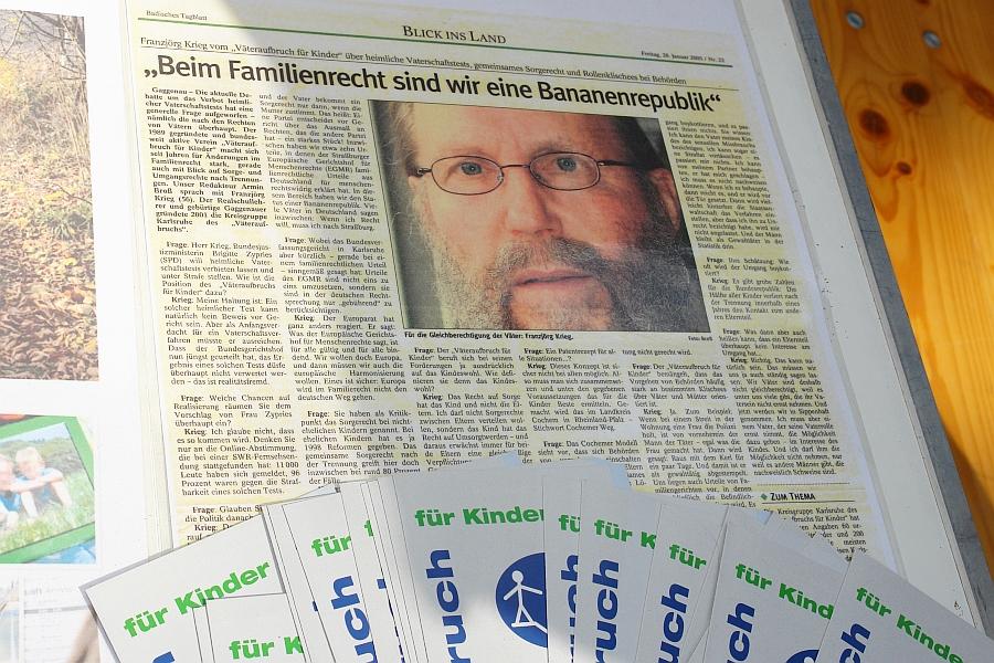 Langjähriger Frontmann und zwischenzeitlich Medienexperte zum Thema kid - eke - pas.