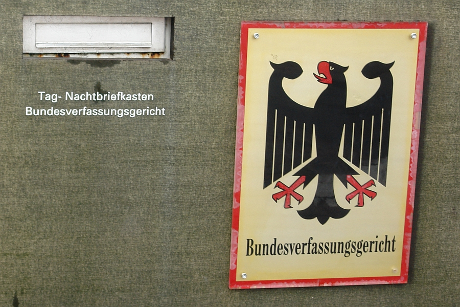 Bundesverfassungsgericht in Karlsruhe.