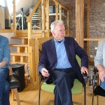 ARCHE Weiler ARCHE TV -Studio Ralph Suikat Werner Temming Prof. Dr. Wolfgang Berger_02