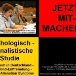 JETZT MITMACHEN !!! Psychologisch-kriminalistische Studie zur Überwindung von kid - eke - pas Kindesraub in Deutschland - Eltern-Kind-Entfremdung - Parental Alienation Syndrome.