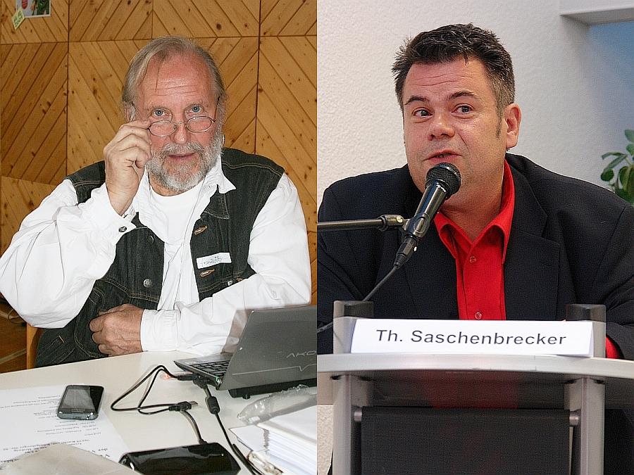 Franzjörg Krieg und Thomas Saschenbrecker: Zusammenarbeit gelungen!