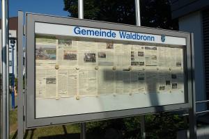 Die Gemeinde Waldbronn ist überall.