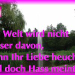 ARCHE Weiler Kurpark Waldbronn Liebe und Hass_06
