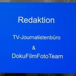 Redaktion. TV-Journalistenbüro & DokuFilmFotoTeam.