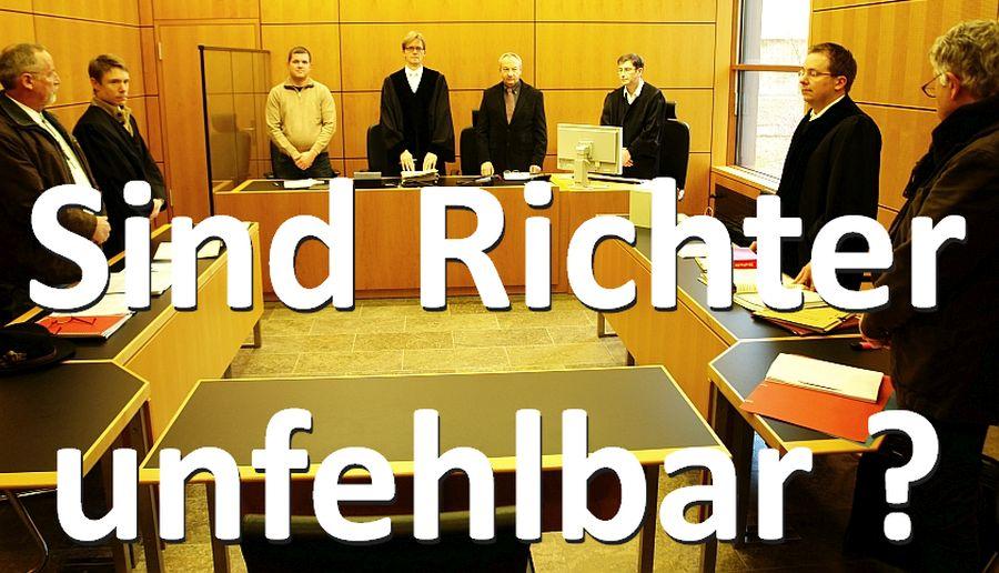 Sind Richter unfehlbar ? Hier: Landgericht Darmstadt, im Prozess gegen Arne Fellner. Forderung Fellners: Einführung der Digitalen Prozessbeobachtung. Foto: Heiderose Manthey