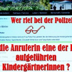 Kindergartenleiterin Petra Frey und ihre Gehilfinnen. Aus: Keltern.de. Kiga menue. Kiga Weiler.