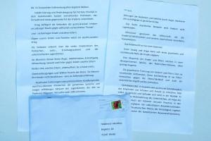 Anonymer Brief an ARCHE. Auseinandersetzung mit Folter in Folge von kid - eke - pas.