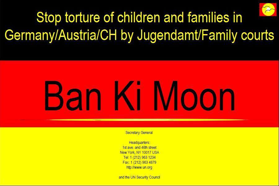 Ban Ki Moon kontaktiert ARCHE.