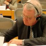 Rainer Wieland, Vizepräsident des Europäischen Parlaments in  Brüssel Fraktion der Europäischen Volkspartei (Christdemokraten) . FOTO: Manthey