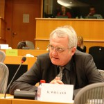 Rainer Wieland, Vizepräsident des Europäischen Parlaments in Brüssel. Fraktion der Europäischen Volkspartei (Christdemokraten). FOTO: Manthey.
