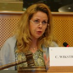 Cecilia Wikström. Vorsitzende des Petitionsausschusses 2015. Europäisches Parlament. Brüssel. Foto: Manthey.