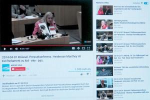 Alle Interviews mit Fachkräften und Petenten aus dem Europäischen Parlament anschauen ! ARCHE VIVA Youtube.