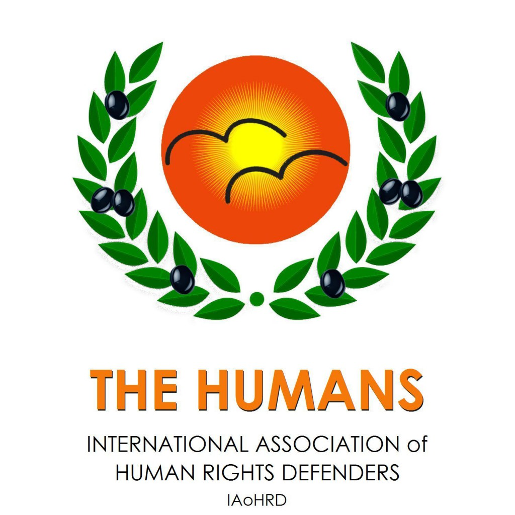 Logo von THE HUMANS - INTERNATIONAL ASSOCIATION OF HUMAN RIGHTS DEFENDERS.