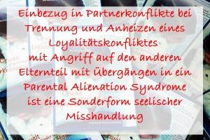 Bayerischer Ärzteleitfaden: Sonderformen Seelischer Misshandlung