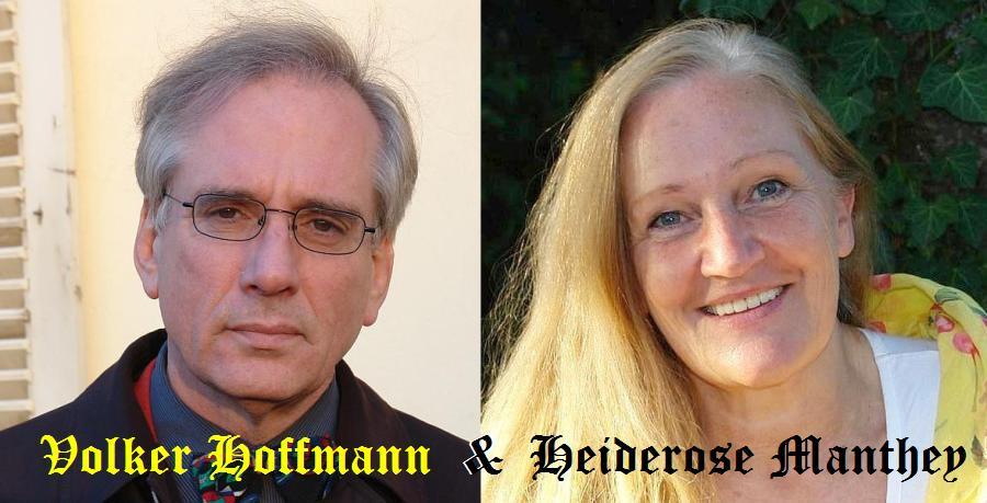 Filmemacher und Journalistin. Volker Hoffmann und Heiderose Manthey. Aufklärer.