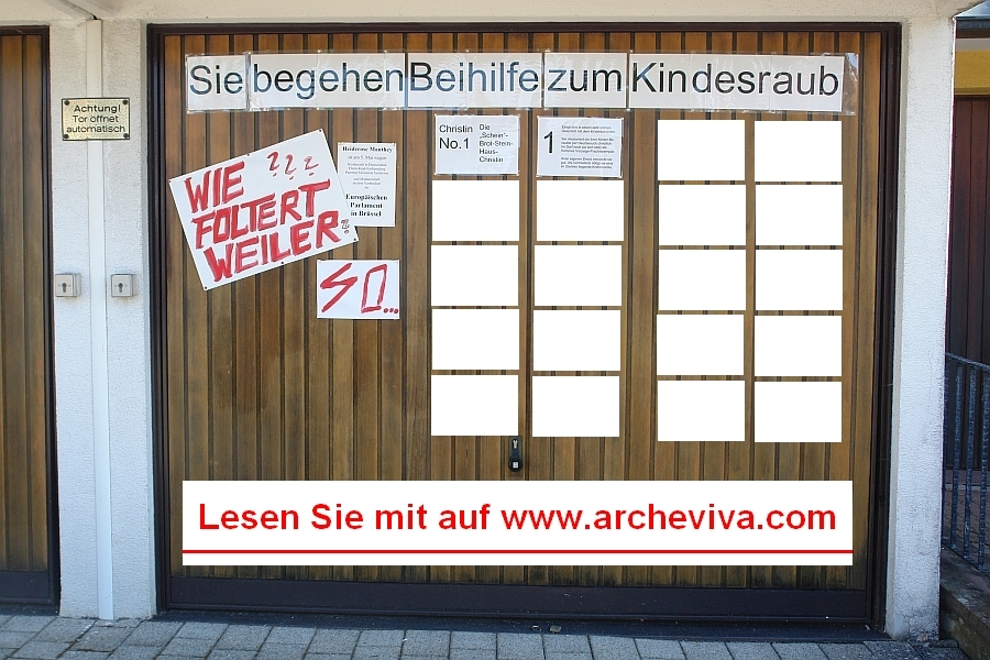 ARCHE Europäisches Parlalment Wie foltert Weiler_01