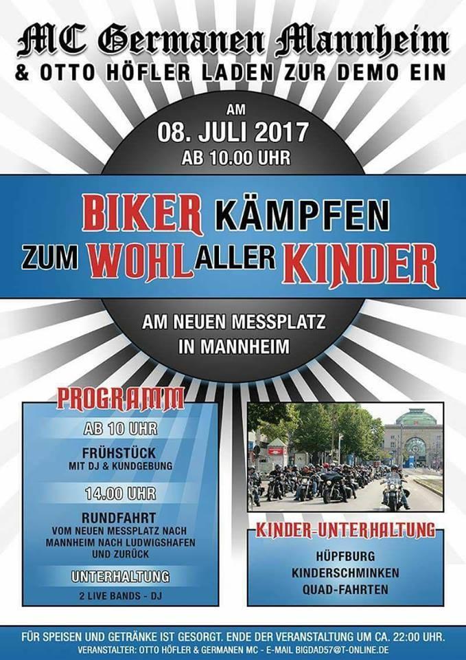 ARCHE BIKER-DEMO Mannheim MC Germanen Otto Höfler_00
