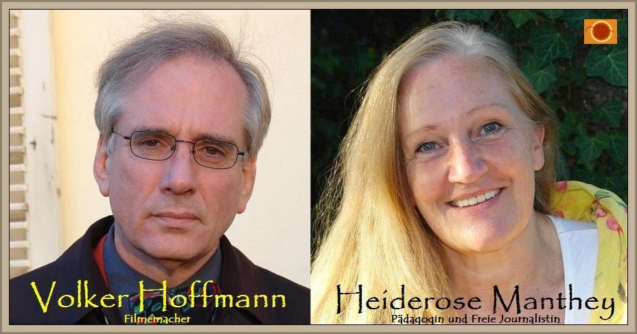 Filmemacher HOFFMANN und Freie Journalistin MANTHEY decken die Menschenrechtsverbrechen in Deutschland auf.