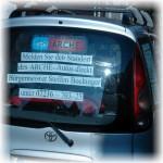 ARCHE Keltern-Weiler Säureattentat auf ARCHE-Auto_03