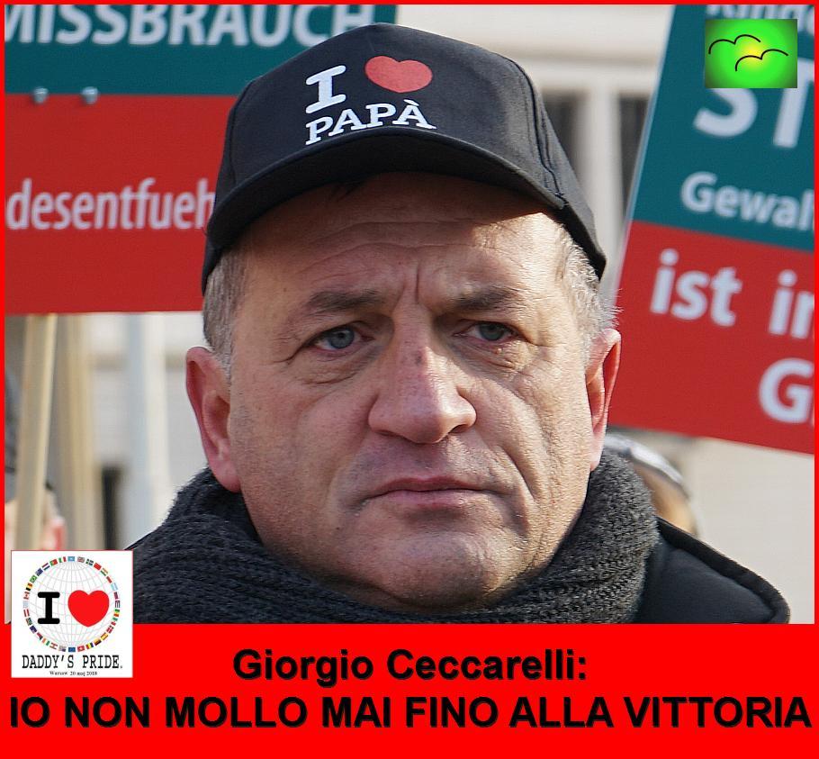 Giorgio Ceccarelli: IO NON MOLLO MAI FINO ALLA VITTORIA