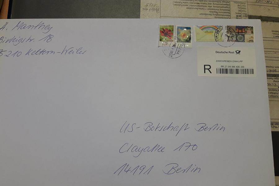 ARCHE Einschreiben Amerikanische Botschaft und Konsulate_00
