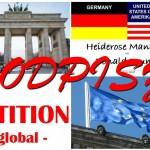 Biorąc udział w petycji WORLDWIDE, aby pokonać kid - eke - pas!