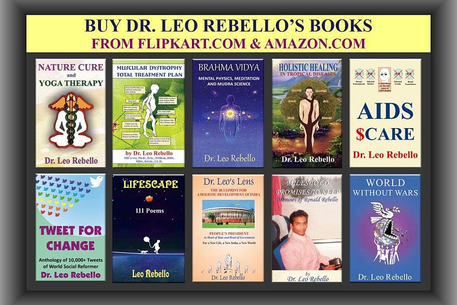 Rebellos books. Dr. Leo Rebello wrote 41 books.