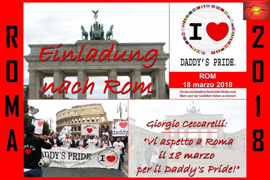 Giorgio Ceccarelli kämpft für unser aller Kinder in ROM !!!