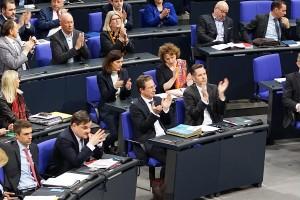 FDP. Applaus für Katrin Helling-Plahr. Wechselmodell als Regelfall.