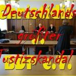 Christidis ./. BDP e.V. - Deutschlands größter Justizskandal ? Werden hier schwarze Schafe gedeckt ?