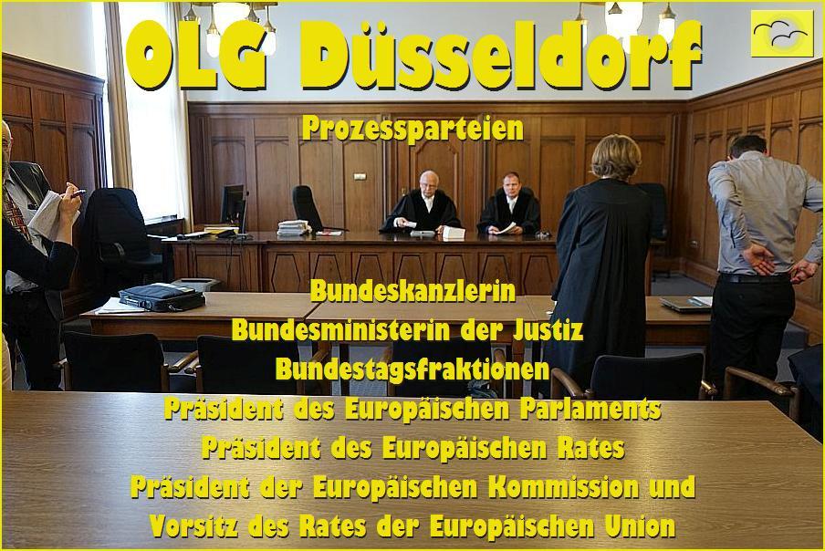 Anschreiben an die politisch verantwortlichen Amtsträger von Deutschland und Europa.