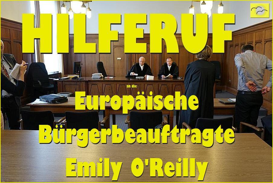 ARCHE OLG Düsseldorf Hilferuf an EU Verfolgung von Whistleblower Christidis gegen BDP e.V._06c