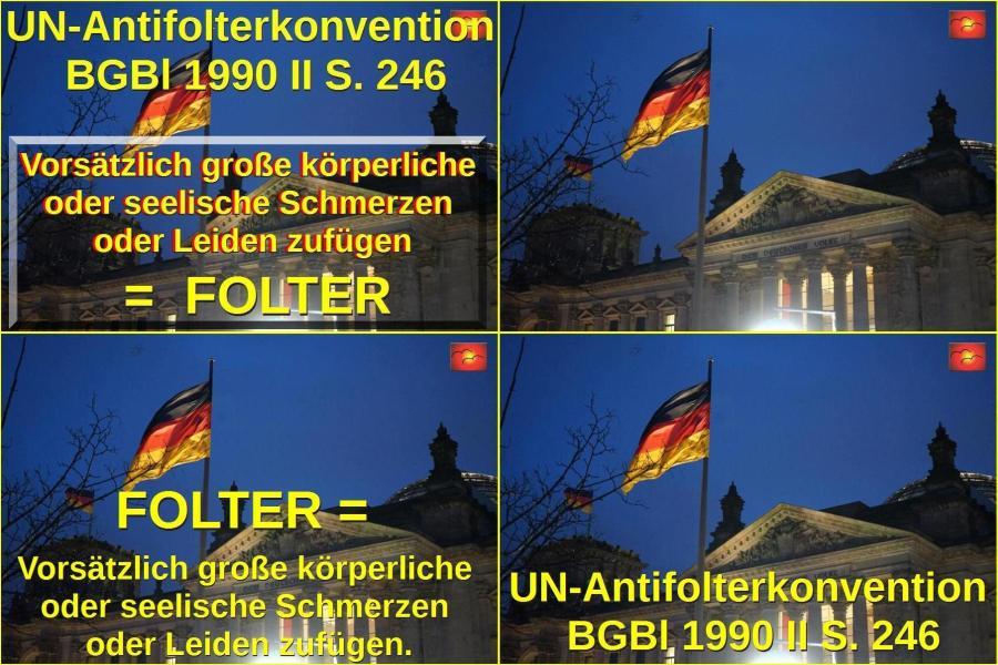 UN-Antifolterkonvention, BGBl 1990 II S. 246.