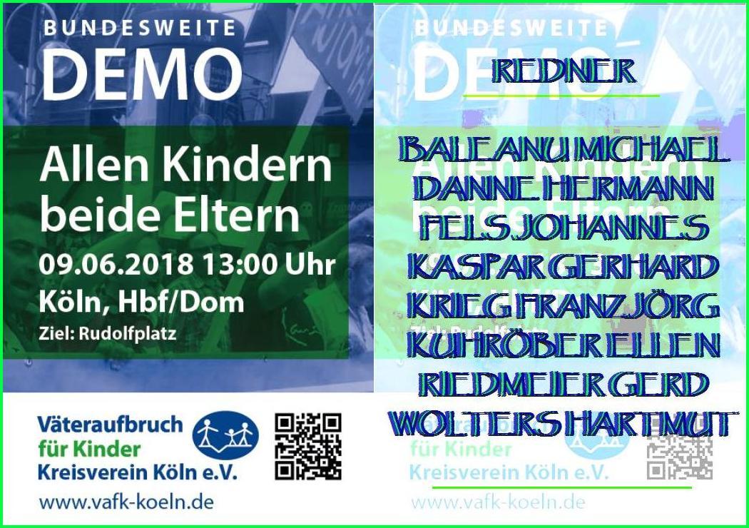 ARCHE kid - eke - pas Demo in Köln Allen Kindern beide Eltern_00