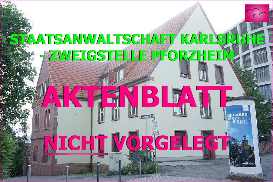 Staatsanwaltschaft Pforzheim